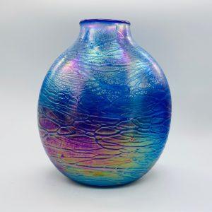 Oval Vase - Luster Series - Blue
