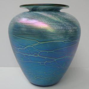 Baby Vase - Luster Series - Aqua