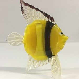 Clown Fish Glass Figurine