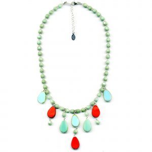 Cascade Necklace-Tropical Island
