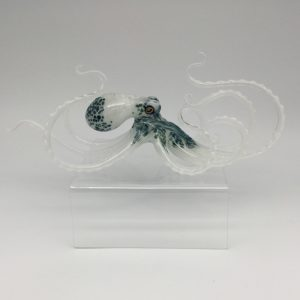 White Glass Octopus