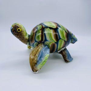 Turtle Glass Sculpture