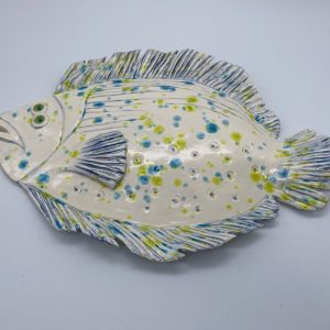 White Funky Flounder
