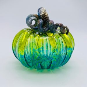 Mini Glass Pumpkin - Assorted Colors
