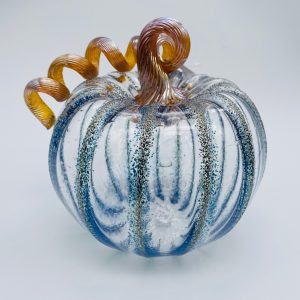 Medium Glass Pumpkin - Assorted Colors