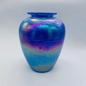 Baby Vase - Luster Series - Blue